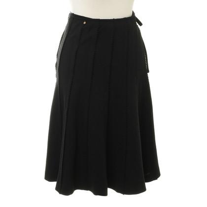 Sonia Rykiel Wrap-around skirt wool