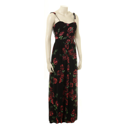 Erin Fetherston Long gown with flower pattern