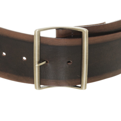 Ermanno Scervino Wide leather belt