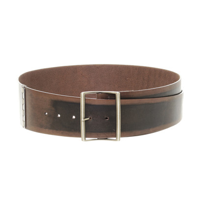 Ermanno Scervino Breed riem leder