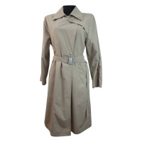 Max Mara Sand-colored rain coat
