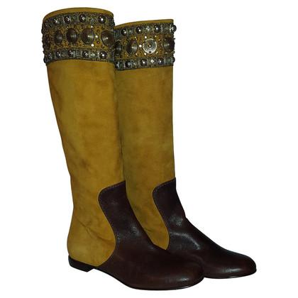 Other Designer Vicini - boots with semi-precious stones