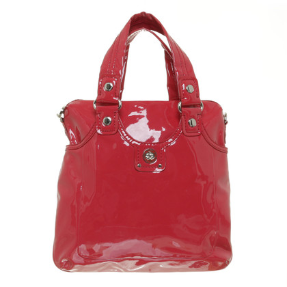 Marc by Marc Jacobs Borsa shopping in vernice rosso