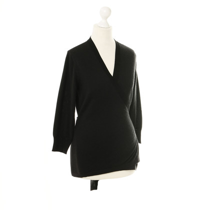 Dolce & Gabbana Wrap-round jacket in black