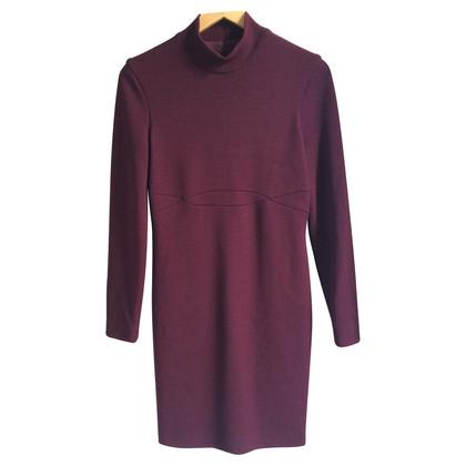 Gianni Versace Knit dress in plum