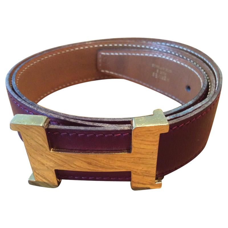 Hermès Belt with H-Buckle