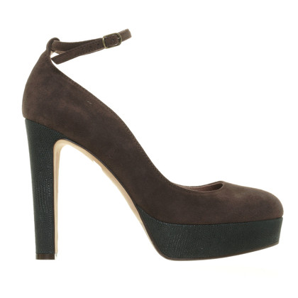L'autre Chose pumps marrone scuro