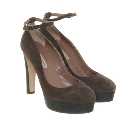 L'autre Chose Dark brown Pumps