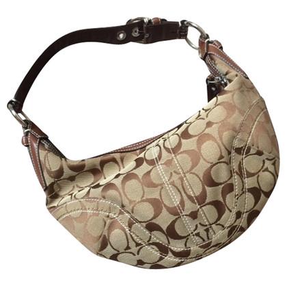 Coach Beige/Brown shoulder bag