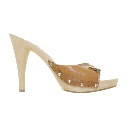 Christian Dior  Mules with wood heels