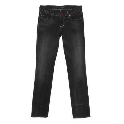Rock & Republic Jeans mit roten Metalldetails