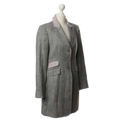 Nusco Manteau à chevrons
