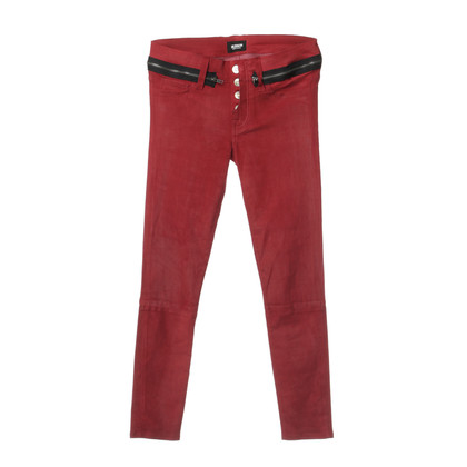Hudson Pants in suede look