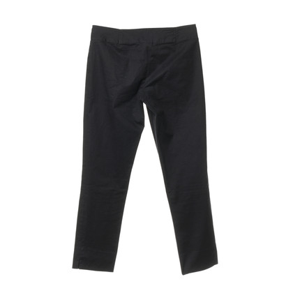Jil Sander Katoenen broek in zwart
