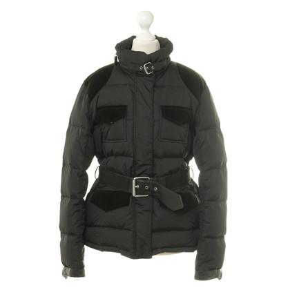 Etro Gewatteerde gewatteerde jas met riem