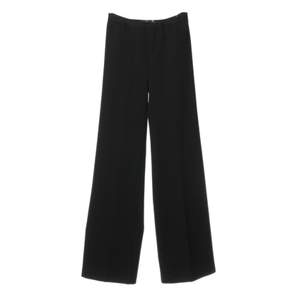 Maurizio Pecoraro  Wide trousers in black