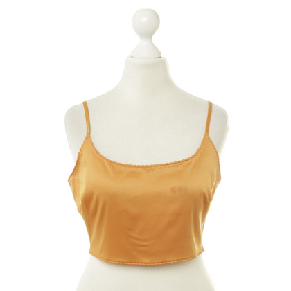 Moschino Bauchfreies Top in Orange