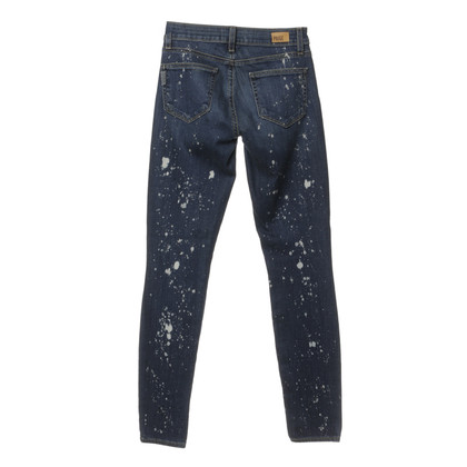 Paige Jeans Skinny jeans with etching printing