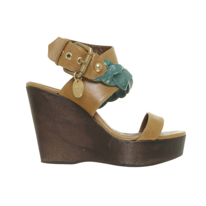 Patrizia Pepe Wedges with wooden heels
