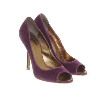Dsquared2 Peep-toes in Velvet look