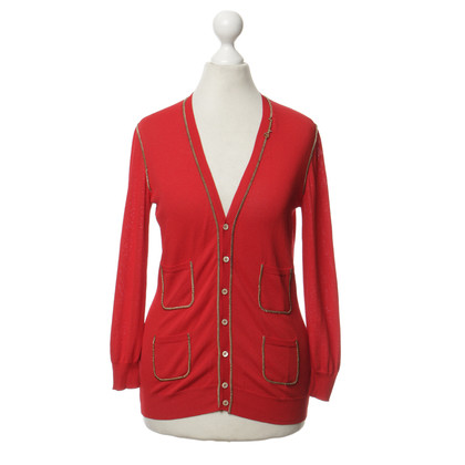 Dsquared2 Cardigan con catena decoro