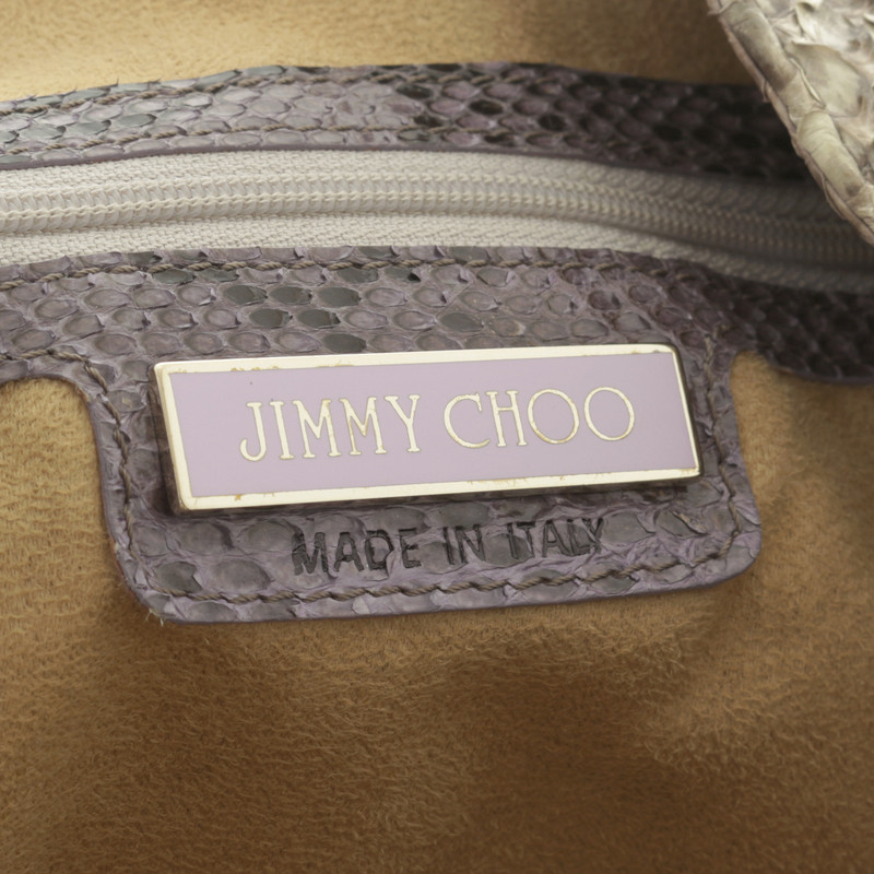 Jimmy Choo Sac à bandoulière en cuir python