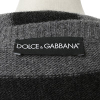 Dolce & Gabbana Cardigan with stripes