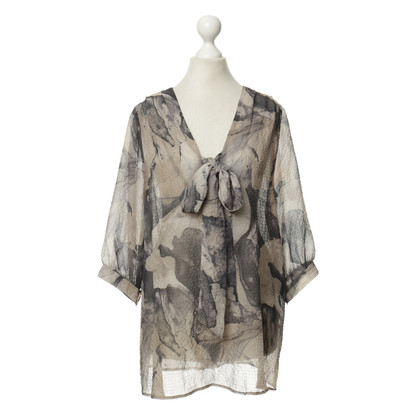 Marcel Ostertag Patroon blouse