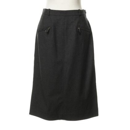 Hermès Grey skirt with pockets