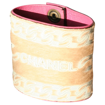 Chanel bracelet leather ponyhair