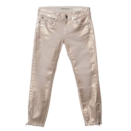 Drykorn Jeans con rivestimento metallico