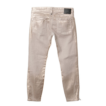 Drykorn Jeans with metallic coating