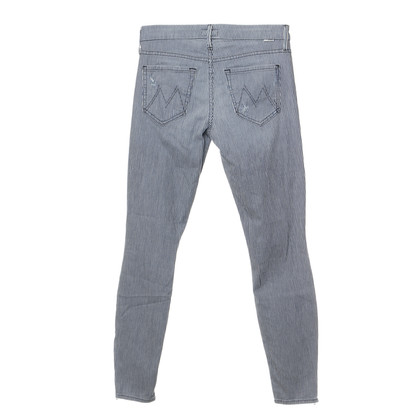 Mother Gestreifte Jeans