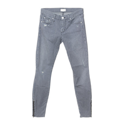 Mother Gestreepte jeans