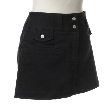 Dolce & Gabbana Jeans skirt in black