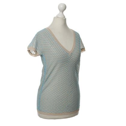 Dsquared2 T-Shirt in Mesh-Optik