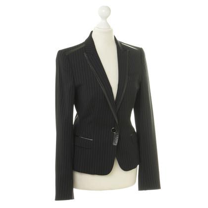 Dolce & Gabbana Blazer  mit Leder