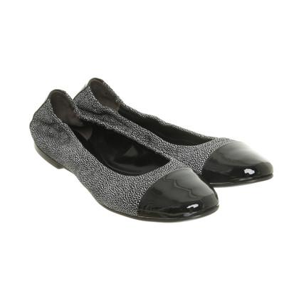 Andere merken Kennel & Schmenger - Ballerina's in zwart wit