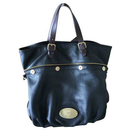 Mulberry Mulberry Pebbled Leder in Schwarz