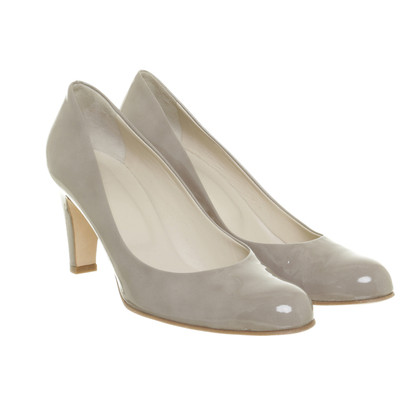 Bogner Lacklederpumps in Grau