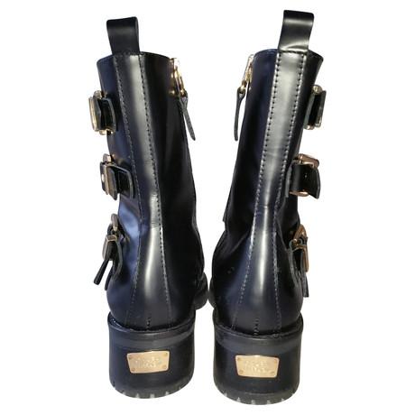 Ferragni Boots Andere Buckled Schwarz Chiara Andere Marke Marke 4zIgHRxHn