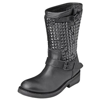 Ash Schwarze Boots