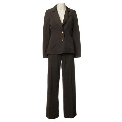 Bally Dark brown pants suit