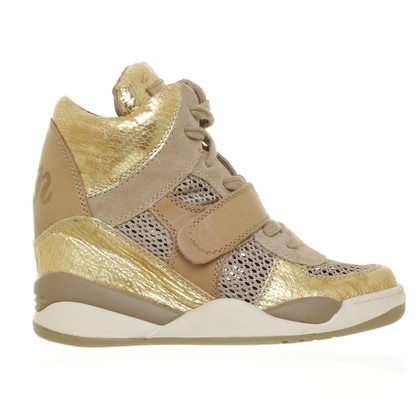Ash Sneakerwedges in metallic look