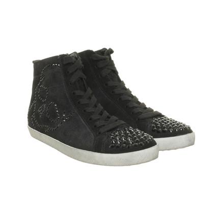 Altre marche Canile & Schmenger - sneaker nero con pietre Swarovski