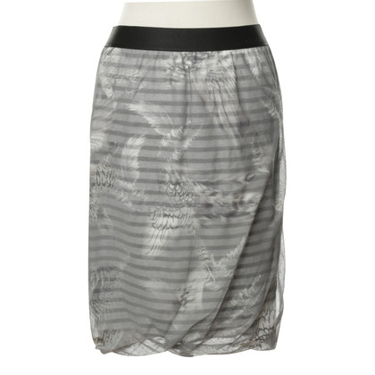 Marc Cain skirt with feather motif