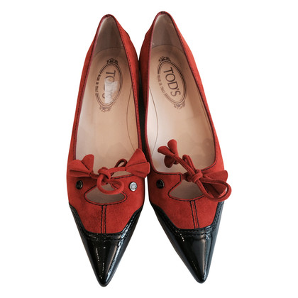 Tod's Leather shoes with tassels