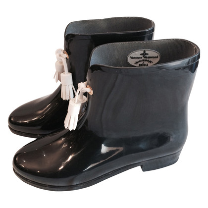 Vivienne Westwood Rubber boots with tassels