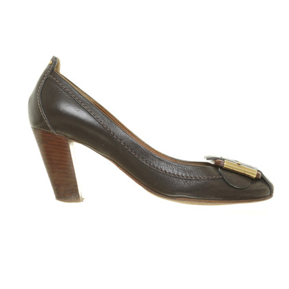 Chloé pumps marrone scuro