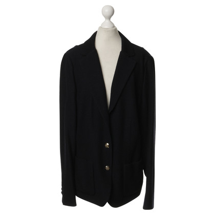 Rena Lange Knit Blazer in black
